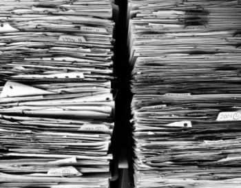 Tax Season is Over! Now What do I do with All of this Paperwork?
